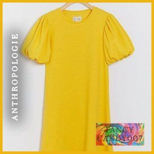 🍋  New! Sunny Day Puff-Sleeved Tunic Dress 🍋